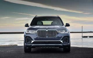 Обзор BMW X7 2018