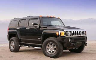 Модельный ряд автомобилей Hummer