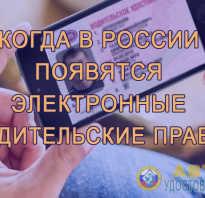 Цифровое водительское удостоверение