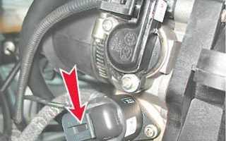 Ваз 2110 регулировка холостого хода инжектор