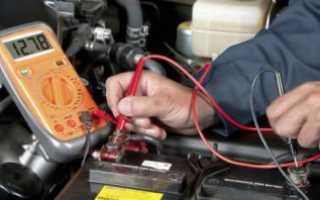 Автомобильный аккумулятор не держит заряд