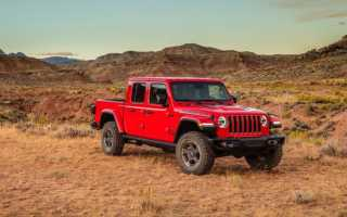 Обзор Jeep Gladiator 2019