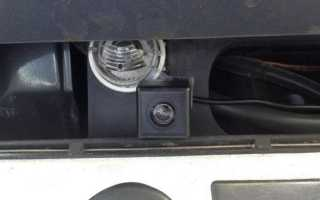 Установка камеры заднего вида на Suzuki Grand Vitara