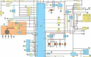 Электрические схемы Nissan Almera