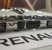 Установка штатной камеры заднего вида на Renault Kaptur