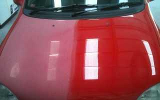 Полировка лака на автомобиле после покраски