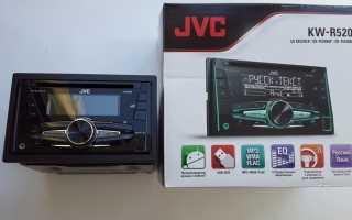 Инструкция по настройке автомагнитолы JVC KW-R520