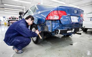 Кузовной ремонт Иркутск недорого