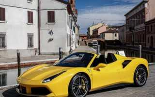 Ferrari 488 Spider 2016 — быстрее, легче, мощнее