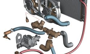 Замена патрубков системы охлаждения шевроле нива