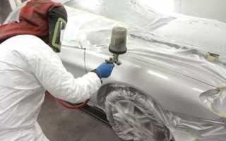 Как правильно красить краскопультом автомобиль?