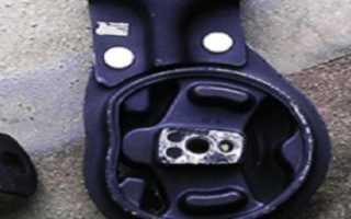 Замена нижней подушки двигателя ваз 2112