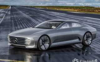 Умный автомобиль Mercedes
