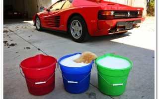 Как правильно мыть автомобиль?
