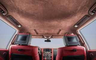Как снять потолок в машине