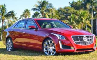 Обновленный Cadillac CTS 2014