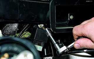 Замена моторчика печки ваз 2121