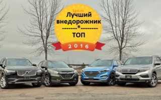 Самые продаваемые кроссоверы в России за 2016 год