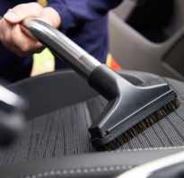 Как пылесосить салон автомобиля?