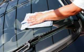 Как отмыть стёкла машины?