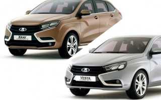 Серийные Lada Vesta и Lada XRay скоро можно будет купить