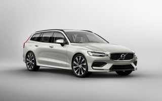 Обзор Volvo V60 2018