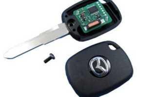 Как прописать новый ключ зажигания и привязать чип в иммобилайзер