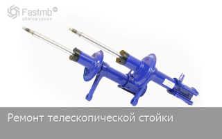 Ремонт телескопической стойки ВАЗ 2110