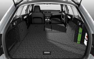 Автомобили с большим багажником