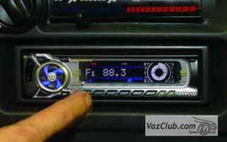 Как установить и подключить магнитолу на машинах ВАЗ-2114 (2115)
