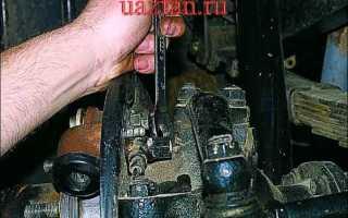 Замена переднего тормозного цилиндра уаз