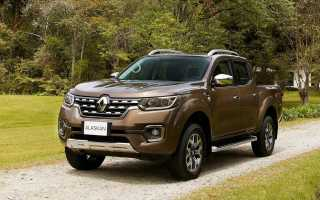 Новый Renault Alaskan Pickup появился на рынке