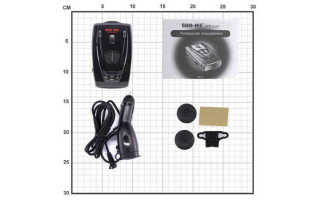 Антирадар Sho-Me STR-530 с фильтрацией помех