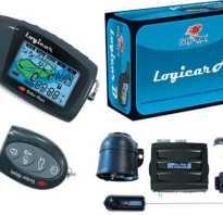 Автосигнализация Scher-Khan Logicar A с жидкокристаллическим экраном
