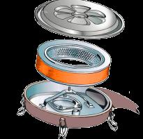 Воздушный фильтр инжекторного двигателя
