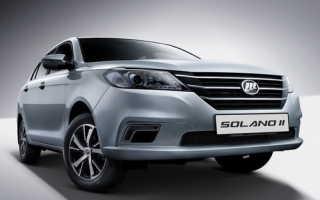 Объявлена цена и характеристики нового Lifan Solano II для России