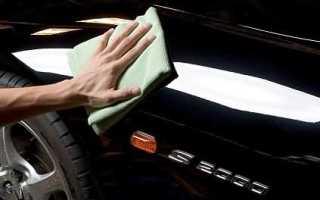 Ручная полировка автомобиля
