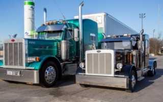 Тюнинг мини грузовиков. Американец делает уменьшенные копии больших грузовиков-тягачей.