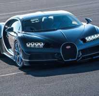 Самолет или автомобиль, обзор Bugatti Chiron 2017