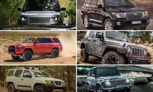 Топ 10 лучших внедорожников для российских дорог