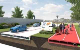 В России будут строить дороги из пластика