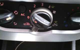 Замена лампочек в приборной панели рено сандеро
