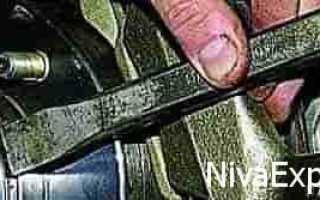 Как отрегулировать подшипник передней ступицы на ниве