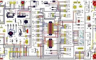 Датчик скорости нива шевроле электросхема подключения