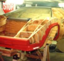 Самодельная Lamborghini Countach, сделанная в подвале