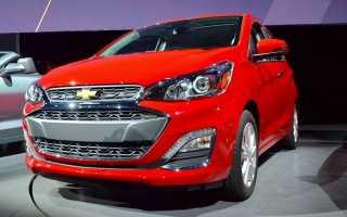 Обзор Chevrolet Spark 2019