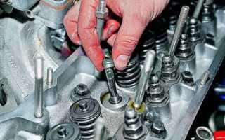Замена маслосъемных колпачков на ВАЗ 2106