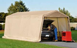 Портативные гаражи для автомобилей