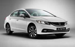 Новый Honda Civic Sedan 2015