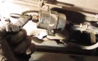Где находится топливный фильтр на авто, фото